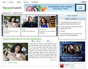 NewsCrunch Theme
