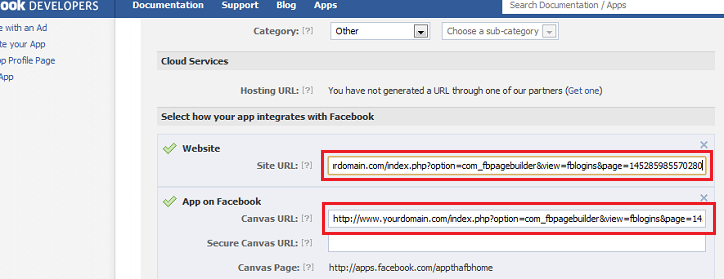 how to get facebook url id